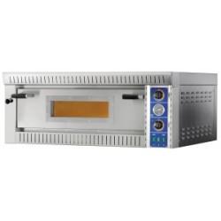 Forno pizza elettrico 1 camera 70 x 70 cm con vetro