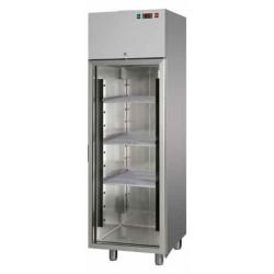 Armadio frigo +0° / +10° da 600 litri porta vetro