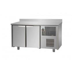 Tavolo Refrigerato 2 porte con alzatina