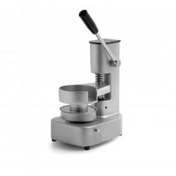 Presshamburger manuale con cilindro 13 cm diametro