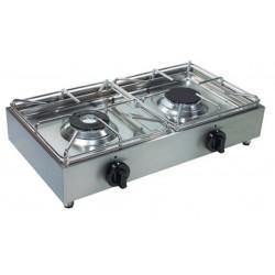 Fornellone a gas superior doppio dom macchine alimentari - Aerazione cucina gas metano ...