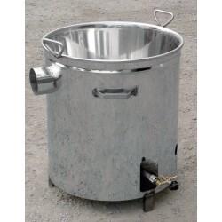 Paiolo inox 27 litri
