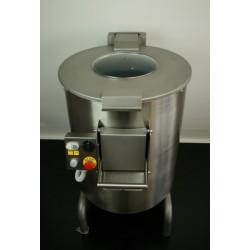 Pelapatate 50 kg con cassetto e filtro trifase