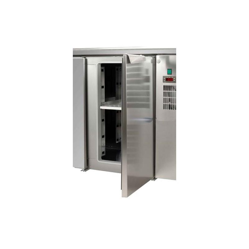 Tavolo Refrigerato 2 porte con alzatina - DOM Macchine ...