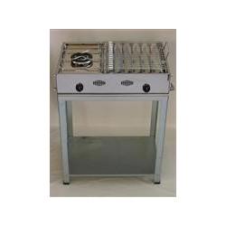 Barbecue griglia + fornello a gas GPL