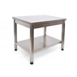 Tavolo inox 60 x 70 H 85 cm