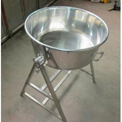 Mastellina Acciaio Inox 40 litri